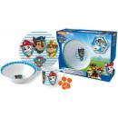 Children's porcelain dinnerware Paw Patrol