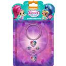 Shimmer and Shine Necklace, Bracelet, Ring Set