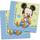 DisneyMickey napkin 20 pieces