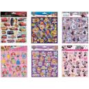 mayorista Artículos con licencia: Disney Juego de 22 pegatinas de esponja Pufi