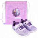 Disney Ice Magic Street shoes with gym bag 23-30