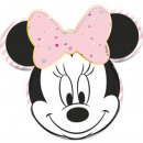 mayorista Artículos con licencia: Plato de papel gema de Disney Minnie Party con 4 p