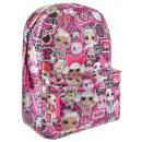LOL Surprise Glitter School Bag, Bag 42 cm