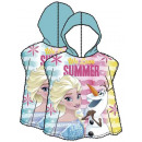 Disney frozen , Ice-cream beach towel poncho
