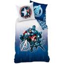 Leinen Avengers  140 x 200 cm, 60 x 80 cm