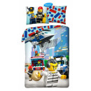 LEGO City bedding cover 140 × 200cm, 70 × 90 cm