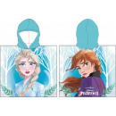 Disney Ponczo plażowe Ice Magic 55 * 110 cm