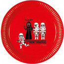 Star Wars Paper Plate 8 x 23 cm