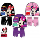 chapeaux et gants d ' enfant Disney Minnie
