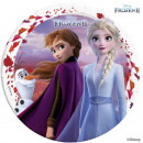 wholesale Party Items: Disneyfrozen II, Ice Magic Paper Plate 8 pcs