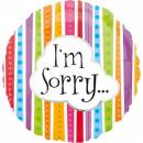 I'm Sorry, Sorry Foil Balloons 43 cm