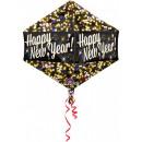 Frohes Neues Jahr Folienballons 53 cm