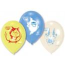 Großhandel Geschenkartikel & Papeterie:-Yo-kai-Uhr Luftballons, Luftballons 6 Stück