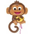 Happy Monkey Foil Balloons 91 cm