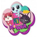 wholesale Licensed Products: Littlest Pet shop shaped cushion, cushion 40 cm