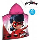 Miraculous Ladybug towel poncho 60 * 120cm