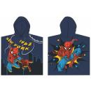 Spiderman beach towel poncho 60 * 120 cm