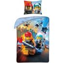LEGO Stadtbettwäsche ist 140 × 200 cm, 70 × 90 cm