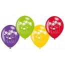 Teletubbies balloon with 6 balloons