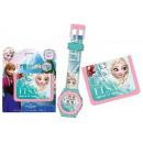 Orologio digitale  + wallet Disney frozen