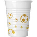 Focis Plastic cup 8 pieces 200 ml
