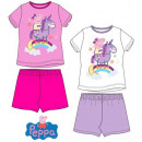 Kid Short Sleeve pyjamas Peppa Pig 3-8 Years