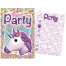 Unicornis Party Invitation Card