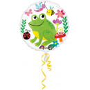 Frog, Béka Fólia lufi 43 cm