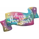 Hologram Happy New Year Foil Balloons