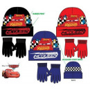 Kids' Cap + Gloves Set for Disney Cars , Verda