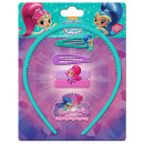 Shimmer and Shine hair clip, hair rubber, hair set