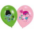 Trolls , Trolls balloon, balloons 6 pcs