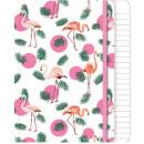 Libretto Flamingo A / 5 Line 80 fogli