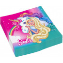 wholesale Licensed Products: Barbie napkin with 20 pcs