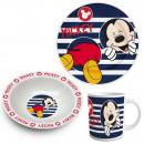 Zastawa stołowa dla dzieci Porcelain Disney Mickey