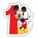 grossiste Bougies & bougeoirs: Disney Mickey  gâteau avec des bougies, aucune boug