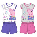 wholesale Sleepwear: Children short sleeve pyjamas Peppa Pig 92-122 cm