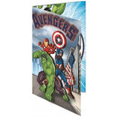 Avengers Greeting Card + Envelope 3D