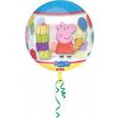 Peppa Pig Sphere foil balloons