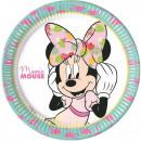 DisneyMinnie Paper tray 8 pcs 23 cm