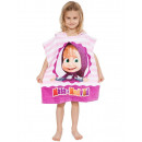 Masha and the Bear beach towel poncho 50 * 115