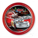 wholesale Party Items: DisneyCars , Verdák Paper plate 8 pieces 19.5 cm