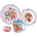 wholesale Houseware: Tableware, micro plastic set Paw Patrol