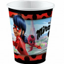 Miraculous Ladybug paper cup with 8 pcs 250 ml