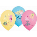 Mermaid, Sellő balloons, balloons 6 pcs