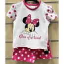 ingrosso Prodotti con Licenza (Licensing): DisneyMinnie Set T-Shirt + Pantaloni bambino