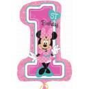 DisneyMinnie Balony foliowe pierwsze urodziny 71 c