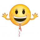 Emoji Mini Foil Balloons 99 cm