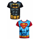 Batman . Superman kids t-shirt, upper 4-10 years