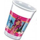 Mia and Me Plastic cup 8 pieces 200 ml